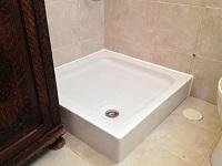 החלפת אגנית במקלחת