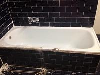 הלבשת אמבטיה לפני